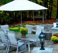 Outdoor Dining and Relaxation