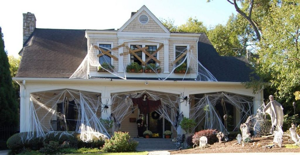decorations-incredible-outdoor-halloween-spiderweb-and-flying ...