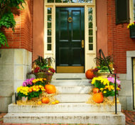 How To Create Inviting Curb Appeal For Fall That Will RAKE In Your Guests